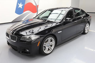 2014 BMW 5-Series  2014 BMW 535I M SPORT SUNROOF NAV HUD REARVIEW CAM 62K #482421 Texas Direct Auto
