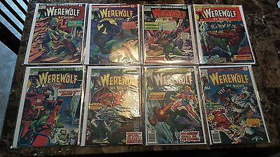 Werewolf By Night lot (8 issues). HG