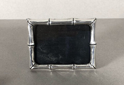 Tiffany & Co. Sterling Silver BAMBOO Picture Frame