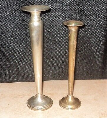 2 STERLING SILVER Bud Vase Reed & Barton Revere Silver Smiths 81 Grams Not Scrap