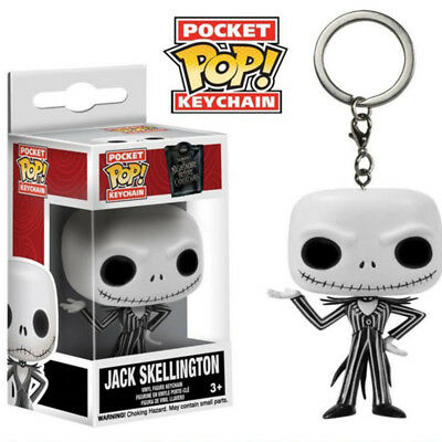 Nightmare Before Christmas: Jack Skellington Vinyl Key chain Toys Collectibles