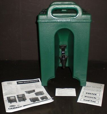 Cambro 100LCD Camtainer Insulated Beverage Server Dispenser NEW! NEVER USED!!