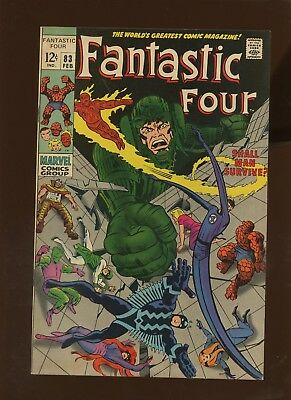 Fantastic Four 83 VF 8.0 * 1 Book * Shall Man Survive? by Stan Lee & Jack Kirby!