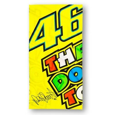 Official VR46 Valentino Rossi MotoGP Motorcycle Beach Towel - 155601