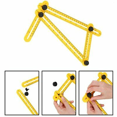 Multi-Angle Measuring Ruler Angle Ruler Easy Amenitee Tool Template Carpenter