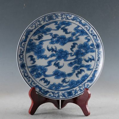 Chinese Porcelain Handmade Flowers Plate Made During The DaQing Qianlong