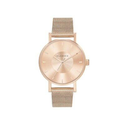 KLASSE14 Volare Rose Gold with Mesh Band | 42mm WATCH women ladies minimalistic