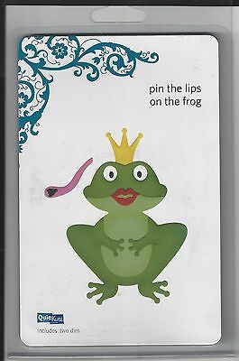 QuicKutz PIN THE LIPS ON THE FROG Revolution REV 0163 4X4 NIP Cuttlebug Sizzix