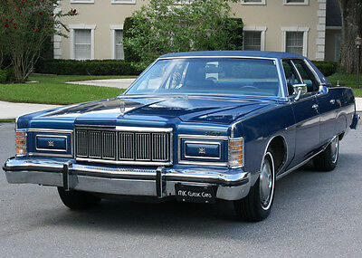 1977 Mercury Grand Marquis Original TWO OWNER LOW MILE SURVIVOR - 1977 Mercury Marquis Brougham - 19K ORIG MI