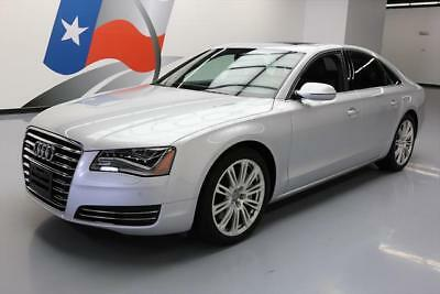 2014 Audi A8  2014 AUDI A8 4.0T QUATTRO AWD SUNROOF NAV BOSE 20'S 29K #007426 Texas Direct