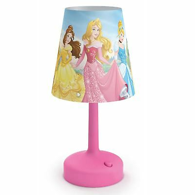 Disney Princess Portable Table Lamp Kids Bedroom Lighting Official New