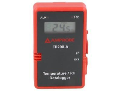 TR200-A Logger temperature and humidity LCD 3,75 digit 1999 IP65 BEHA-AMPROBE