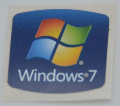WINDOWS 7 Stickers Decal for Laptop