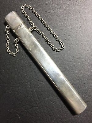 No. 2012256, A.L. Co. Victorian Sterling Silver Chatelaine Needle Case