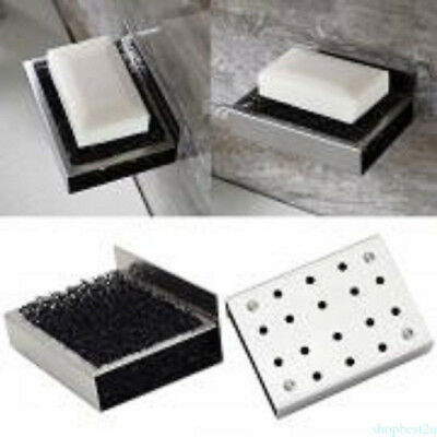Newest Household kitchen sink Soap Dish Wall Holder Dish Bathroom soap box