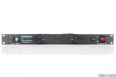 Furman PL-8 Rack Power Supply Conditioner w/ Dimmable Pull Out Lights PL8 #29833