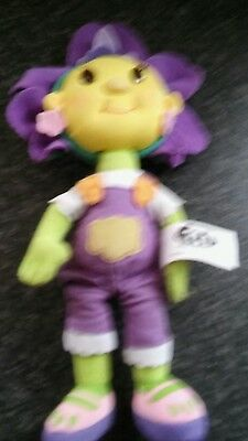 fifi and the flowertots violet soft toy doll