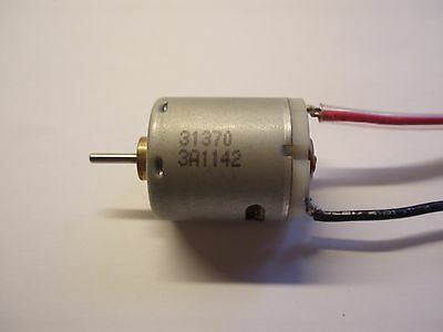 Mini 12V Dc Motor Johnson 31370 With Terminal Wires - Modeling, Automation, Diy