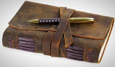 Leather Journal Writing Notebook Handmade Vintage Bound Men Women Stylish Gift