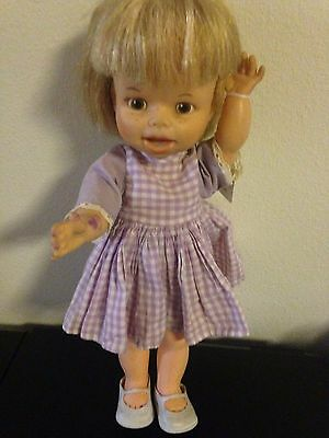 """1966 American Character Pouting Penny Doll 13"""""""