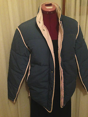 Duck down ski jacket