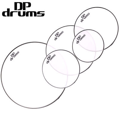 Double Mesh Dual Ply Drum Head Skin Fusion Pack 22 10 12 14 14snr DP Drums