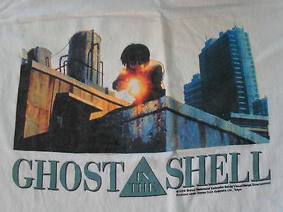 Vintage 1999 Ghost In The Shell Long Sleeved Shirt Never Used Vtg Anime Manga