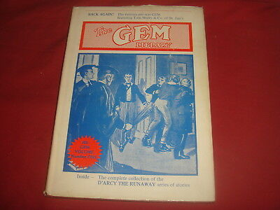 THE GEM LIBRARY #1  D'arcy The Runaway Howard Baker Hardcover
