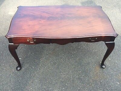 Gorgeous Antique Coffee Table Mahogany/Walnut