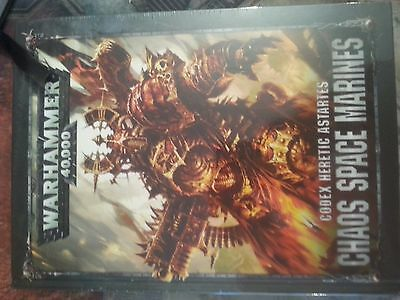 Warhammer 40K Chaos Space Marines Codex 8Th Edition - New And Sealed