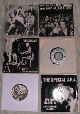 THE SPECIALS  New Wave/Ska 7'' collection/lot