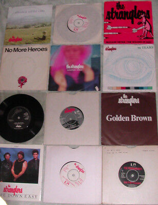 THE STRANGLERS new wave/punk collection/ job lot 7'' x 12