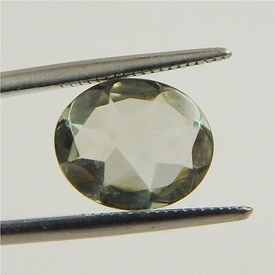 3.4 cts Natural Green Amethyst Gemstone Must See Loose Cut Faceted R#192-7