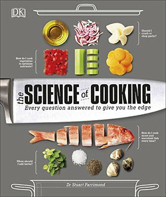 Science of Cooking by Dr. Stuart Farrimond New Hardback Book
