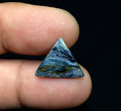 3.20 Cts. 100 % Natural Chatoyant Pietersite Triangle Cabochon Loose Gemstones