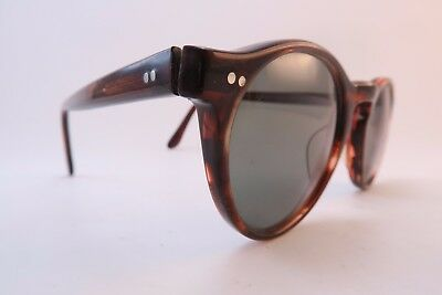 Vintage Cutler & Gross of London sunglasses Mod. 0153 men's small women's medium