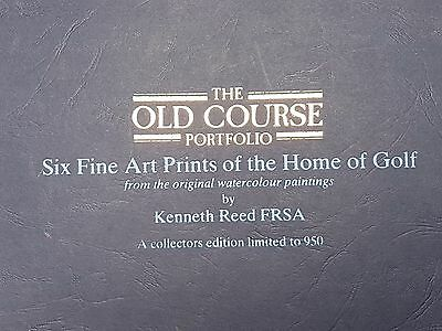 The Old Course Portfolio – Kenneth Reed Golf Art Collection - Limited Edition