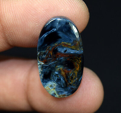 12.90 Cts. 100 % Natural Chatoyant Pietersite Oval Cabochon Loose Gemstones