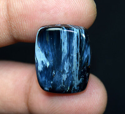 20.05 Cts. 100 % Natural Chatoyant Pietersite Cushion Cabochon Loose Gemstones