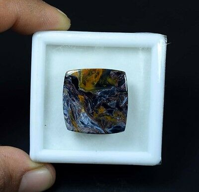 23.00 Cts. 100 % Natural Chatoyant Pietersite Cushion Cabochon Loose Gemstones