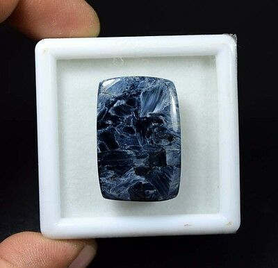 32.10 Cts. 100 % Natural Chatoyant Pietersite Cushion Cabochon Loose Gemstones