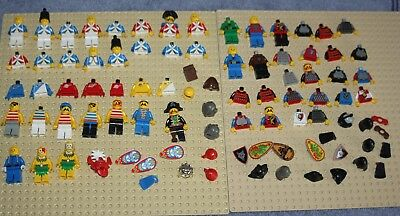 Genuine Lego Pirate Blue Coat Imperial Soldiers Knights Etc Minifigure Spares