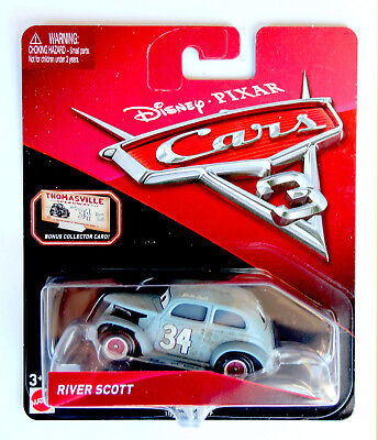 Disney Pixar Cars 3 River Scott - VERY RARE