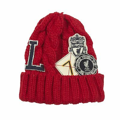 Liverpool FC LFC Boys Red Academy Beanie Official