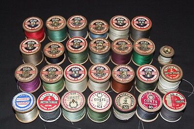 Dewhurst SYLKO vintage cotton threads bobbins reels