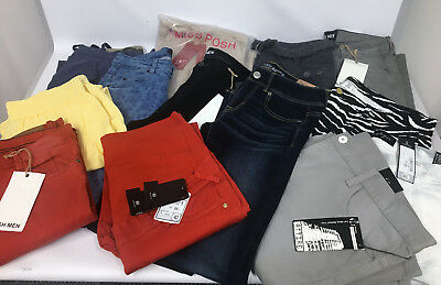 Mixed Ladies and Men Clothing Bundle Of 70 Items Joblot Car Boot Brand New