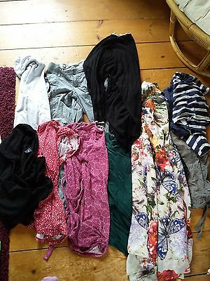 Maternity clothes mixed bundle multiple brands size 10/12