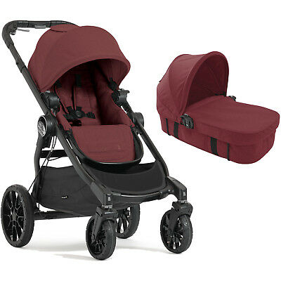 New Baby Jogger Port Select Lux Pushchair Stroller & Carrycot Kit