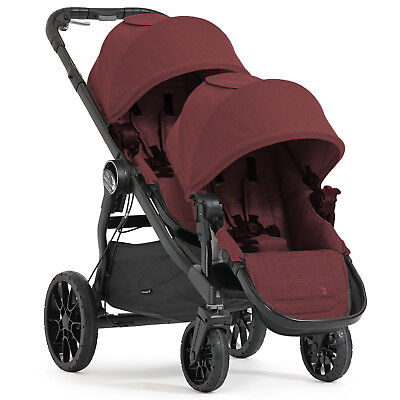 New Baby Jogger Port City Select Lux Tandem Pushchair Stroller Double Buggy
