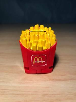Vintage McDonalds Changeables 1990 Happy Meal Toy Fries Transformers